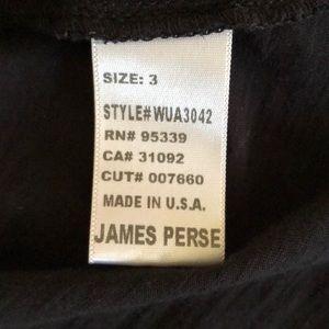 James Perse Tops - James Perse Los Angeles shirt black